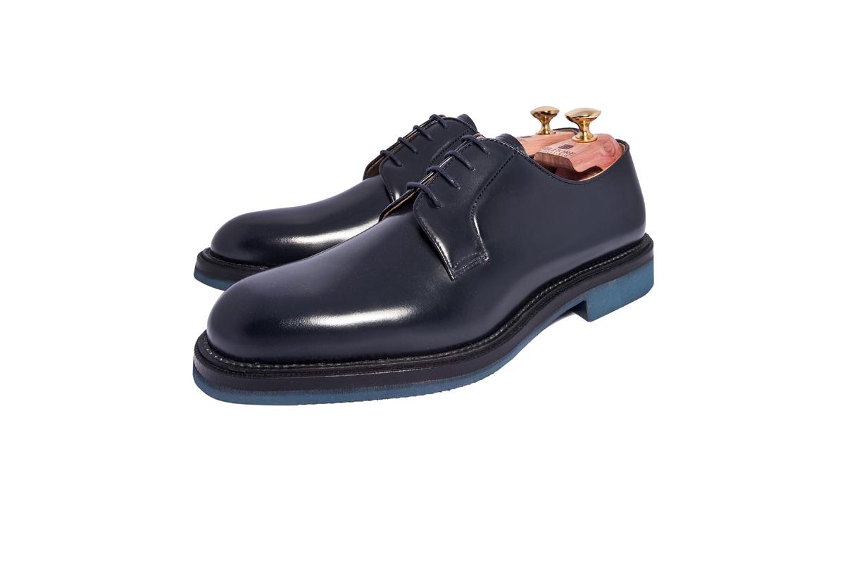 sale retailer 6e671 34912 Derby Uomo Blue – Calzature Belfiore® – Scarpe da Uomo