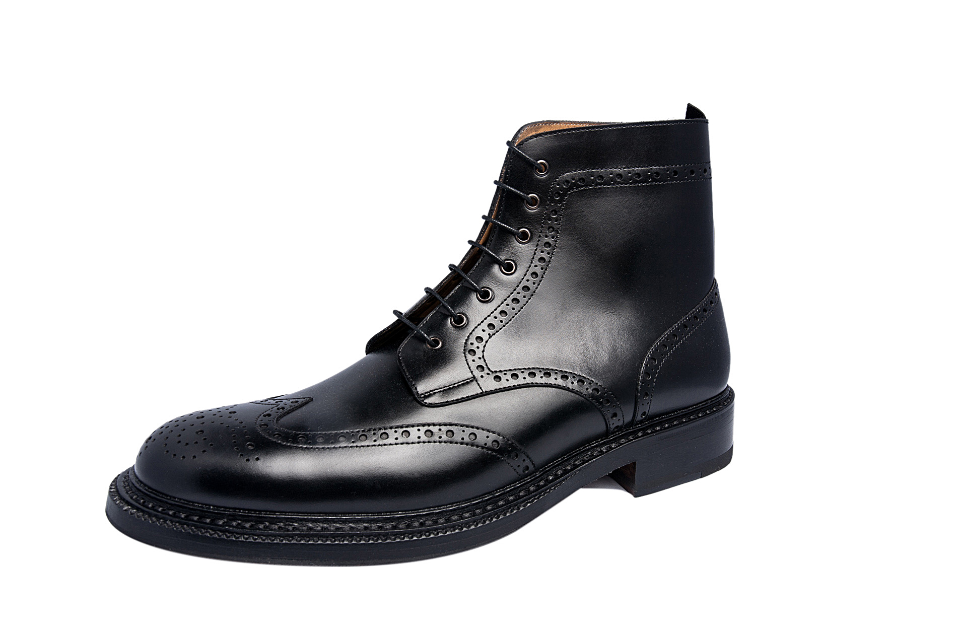 huge selection of 100% authentic multiple colors Brogue lace-up derby boot