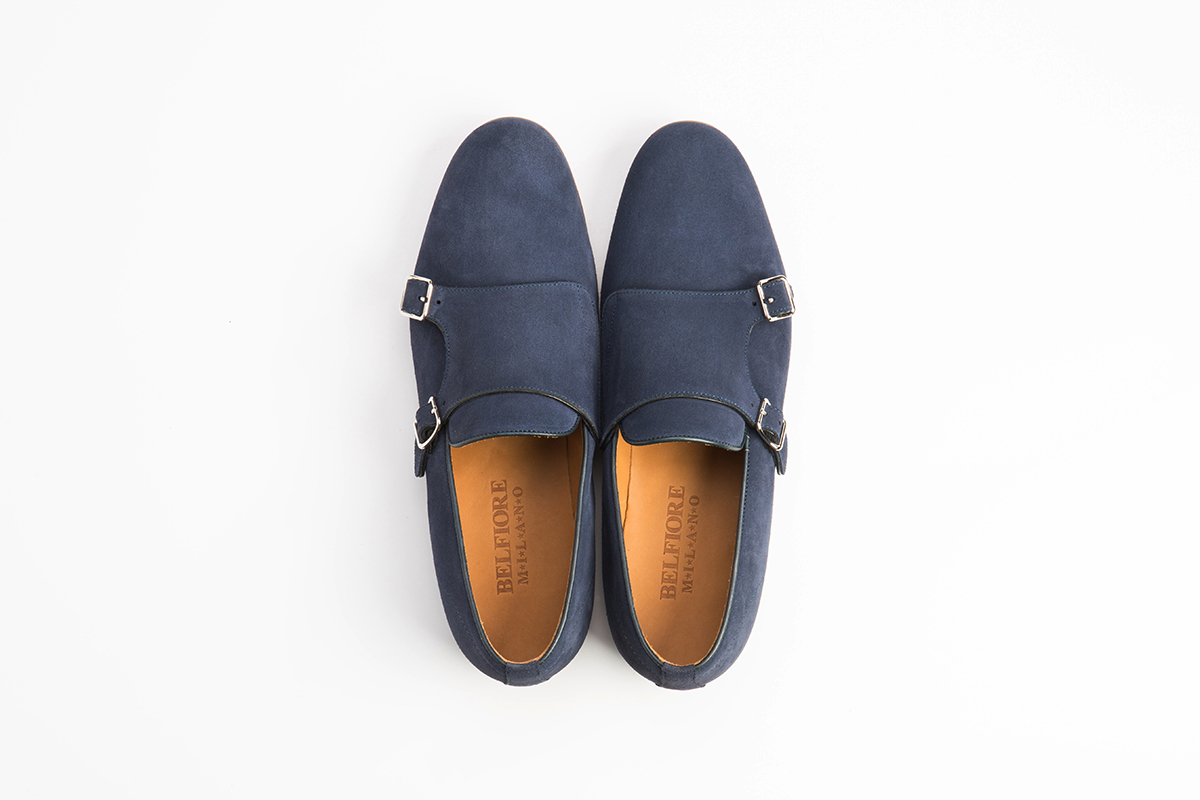 Monk Strap new model pelle Camoscio blue00002  4f395293139