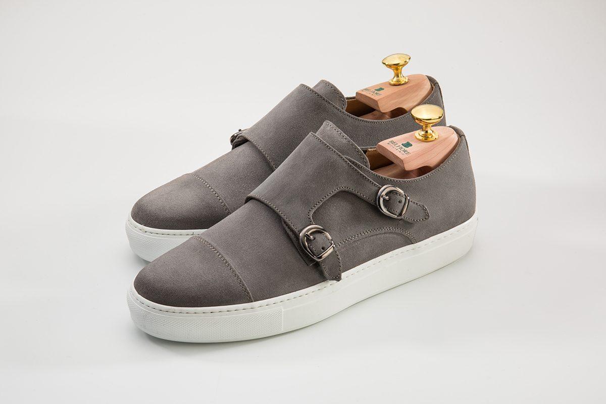 Sneakers Doppia Fibbia